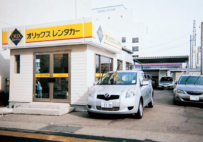 オリックスレンタカー 会津若松駅前01