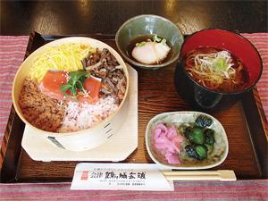 会津 鶴ヶ城会館「食事処二の丸」01