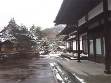 會津郷土食と桜 鶴我 東山総本山01